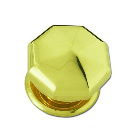 Boule de porte diamant en laiton poli