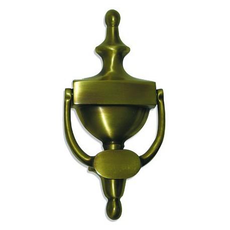 Heurtoir de porte classique laiton bruni 200X95 mm