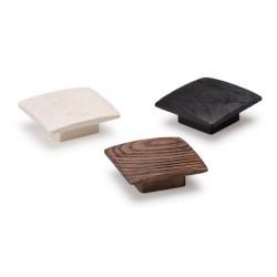 Bouton de meuble BALTO 60X60 mm bois naturel