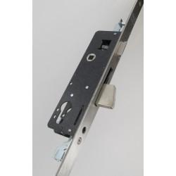 Coffre de sûreté à pêne basculant 3 points axe à 30 mm, inox 304