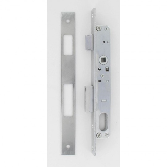 Sûreté à larder à cylindre oblongue axe à 15 mm + gâches