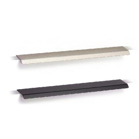 Poignée de meuble CURVE 128/200 mm noire mat