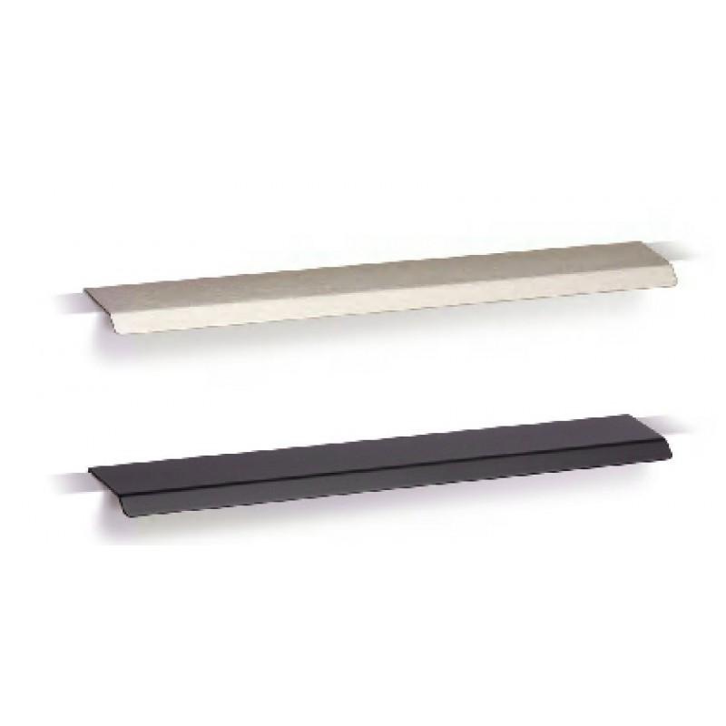 Poign e de meuble curve 128 200 mm noire mat - Poignee de meuble originale ...