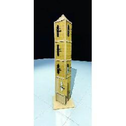 Tour de présentation composée de 4 étages