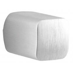 Bouton meuble oblongue BIN 15 mm chrome brossé
