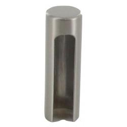 Demi cache-fiche D. externe 15,2/ interne 14, 48mm de hauteur, finition bronze