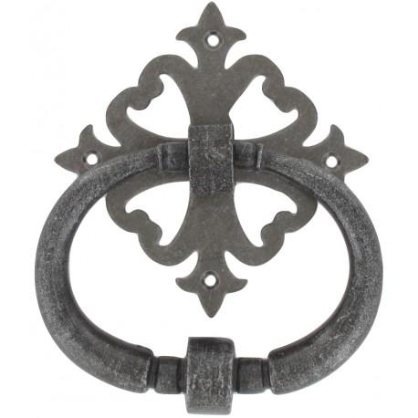 Heurtoir vieil argent 160X130 mm D122