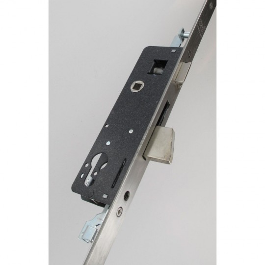 Coffre de sûreté à pêne basculant 3 points axe à 35 mm, inox 304