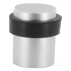 Butoir de sol cylindrique en aluminium argent D30XH40 mm