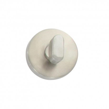 Rosaces inox 304 D53 à condamnation voyant pour plaques Ref. 5052