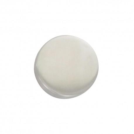 Rosace inox 304 aveugle/BdC sans trou diamètre 53 mm
