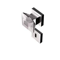 Poignées diamond bouton carrées de 60mm