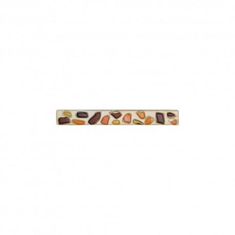 Poignées et rosaces trou de clé Moma Galet ambre