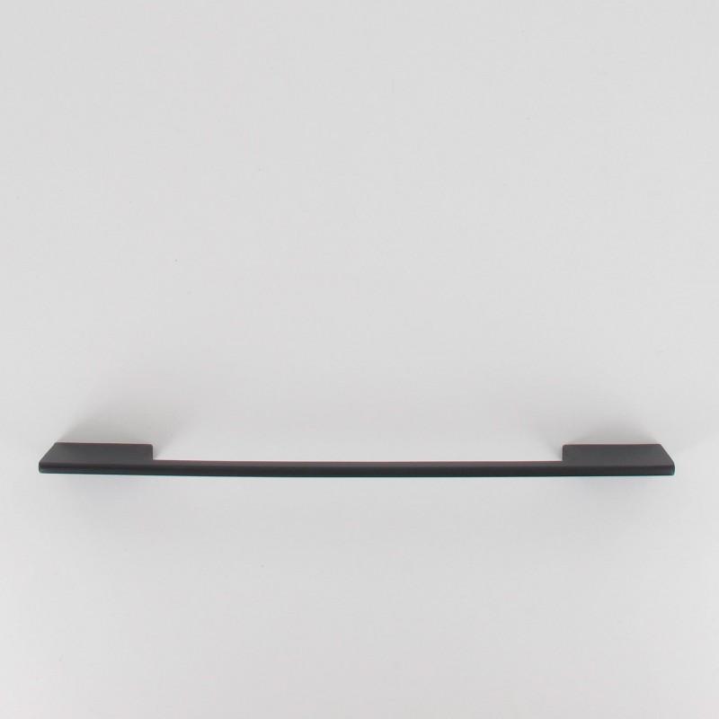 poign e de meuble fine dino 192 221 mm noir mat. Black Bedroom Furniture Sets. Home Design Ideas