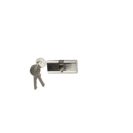 Cylindre 60 mm (30x30) oblongue varié en laiton, 3 clés