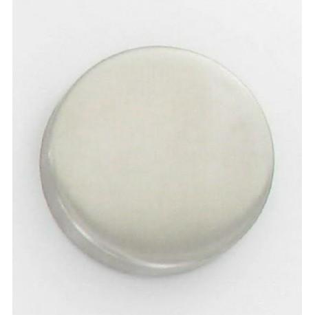 Rosaces ronde inox 304 borgne D53 mm sous-rosaces acier zingué blanc