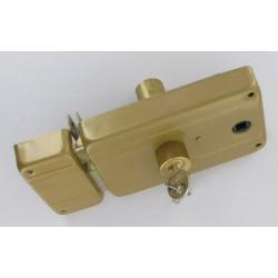 Sûreté Horizontale à trou de cylindre européen I foulliot de 8 mm droite