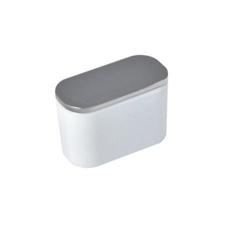 Bouton de meuble ovale