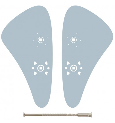 Plaque ULNA a trou de condamnation C 70/72 mm avec vis à douille