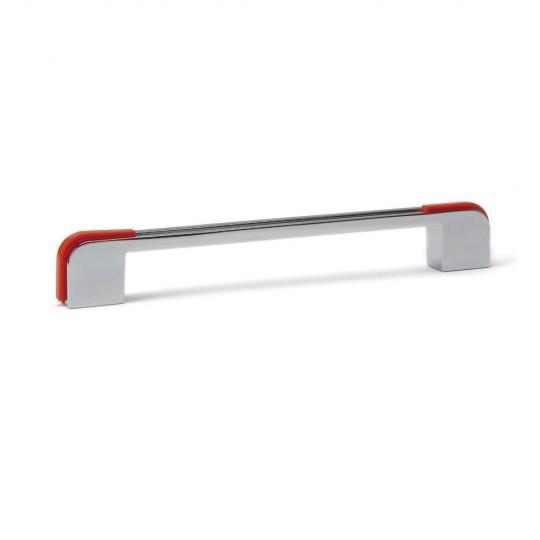 Poignée de meuble arrondie DECO, orange