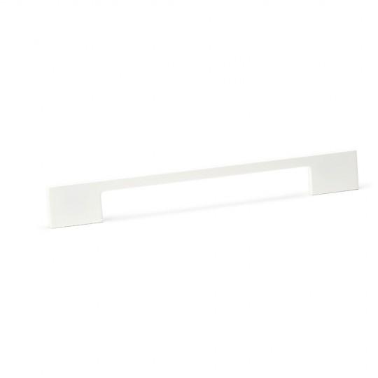Poignée de meuble fine DINO, blanc mat