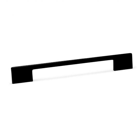 Poignée de meuble fine DINO 192/221 mm noir mat