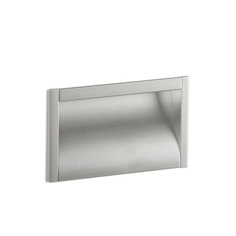 Poignée de meuble BOX, bois aluminium
