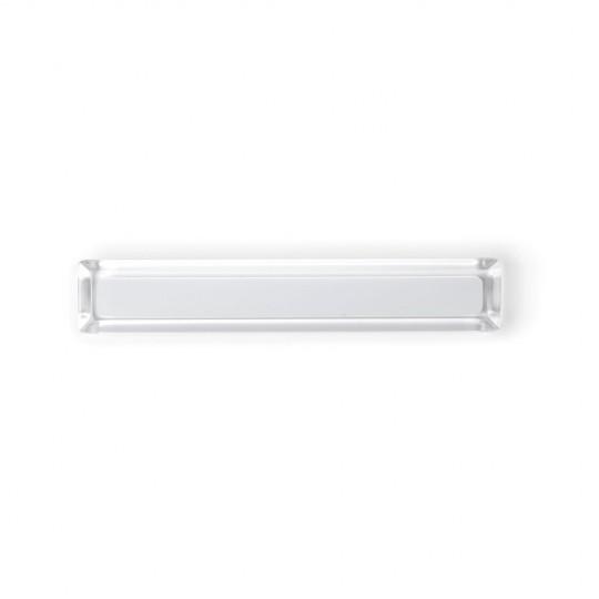 Poignée de meuble rectangulaire CORE, blanc
