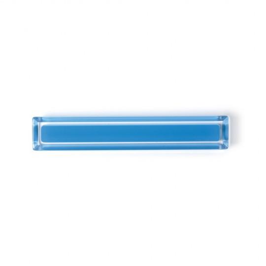 Poignée de meuble rectangulaire CORE, bleu