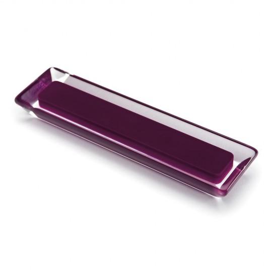 Poignée de meuble rectangulaire CORE, violet
