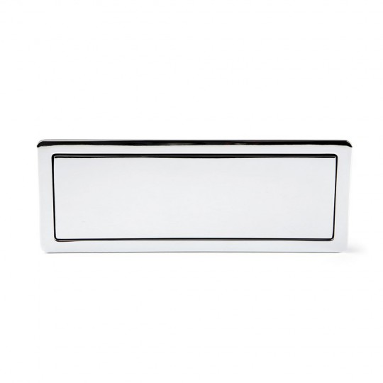 Poignée de meuble rectangulaire RASO, chromée